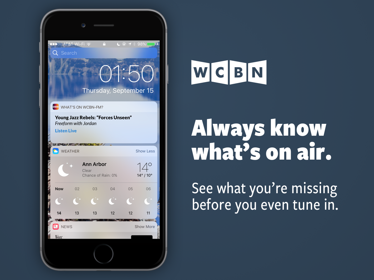 Always know what's on air: see what you're missing before you even tune in.