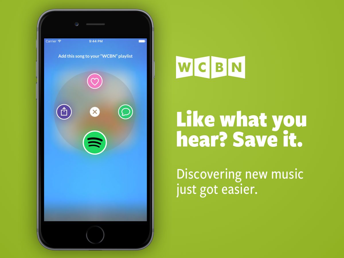 Like what you hear? Save it. Discovering new music just got easier.